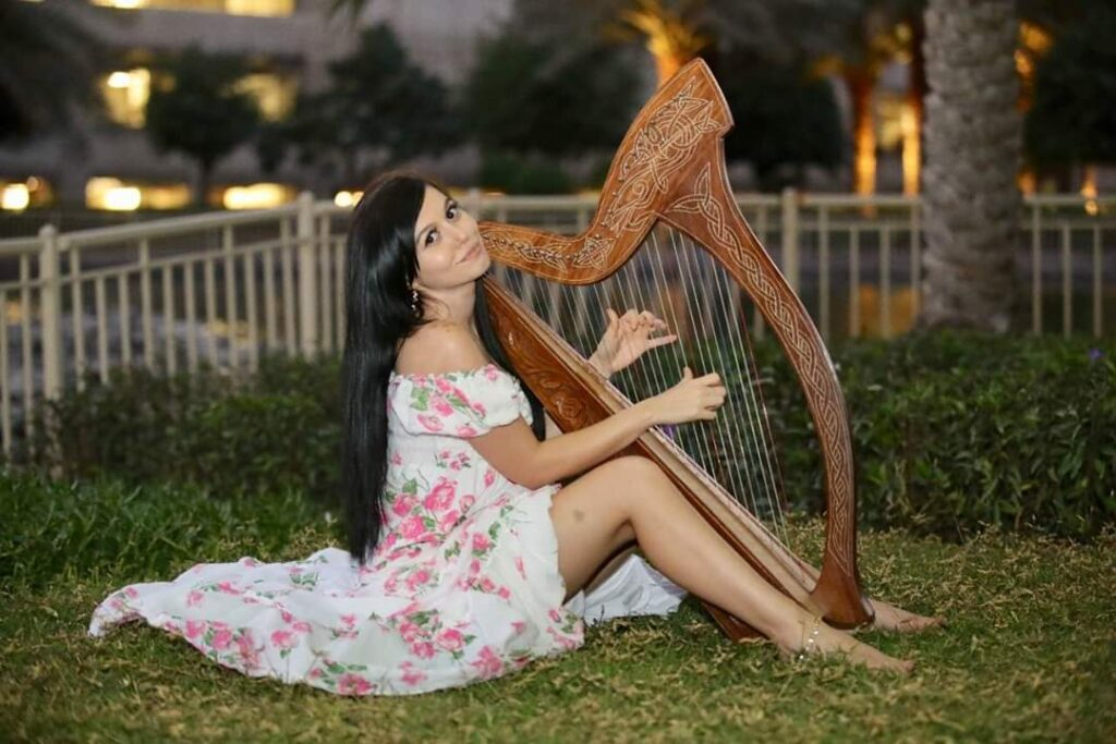 Arabic Harpist - Gae events - Dubai - UAE (10)