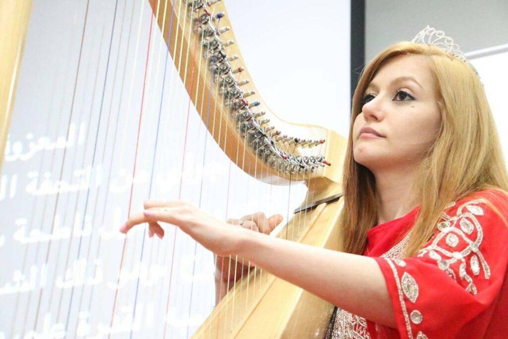 Arabic Harpist - Gae events - Dubai - UAE (3)