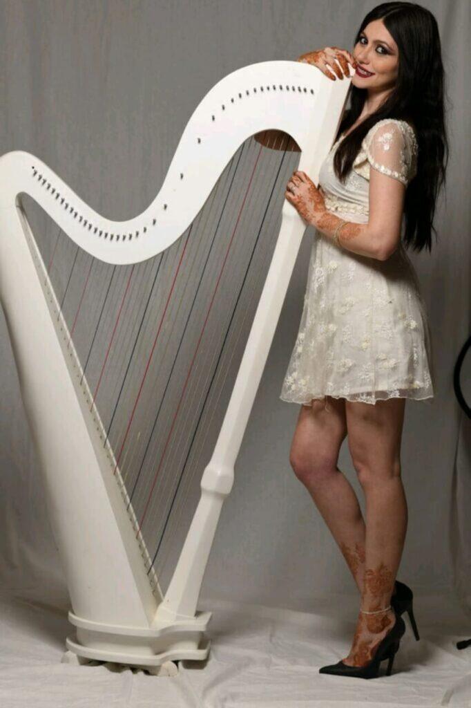 Arabic Harpist - Gae events - Dubai - UAE (4)