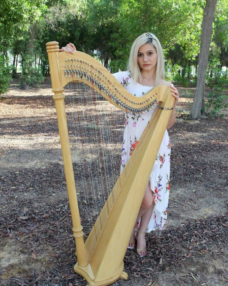 Arabic Harpist - Gae events - Dubai - UAE (5) (1)