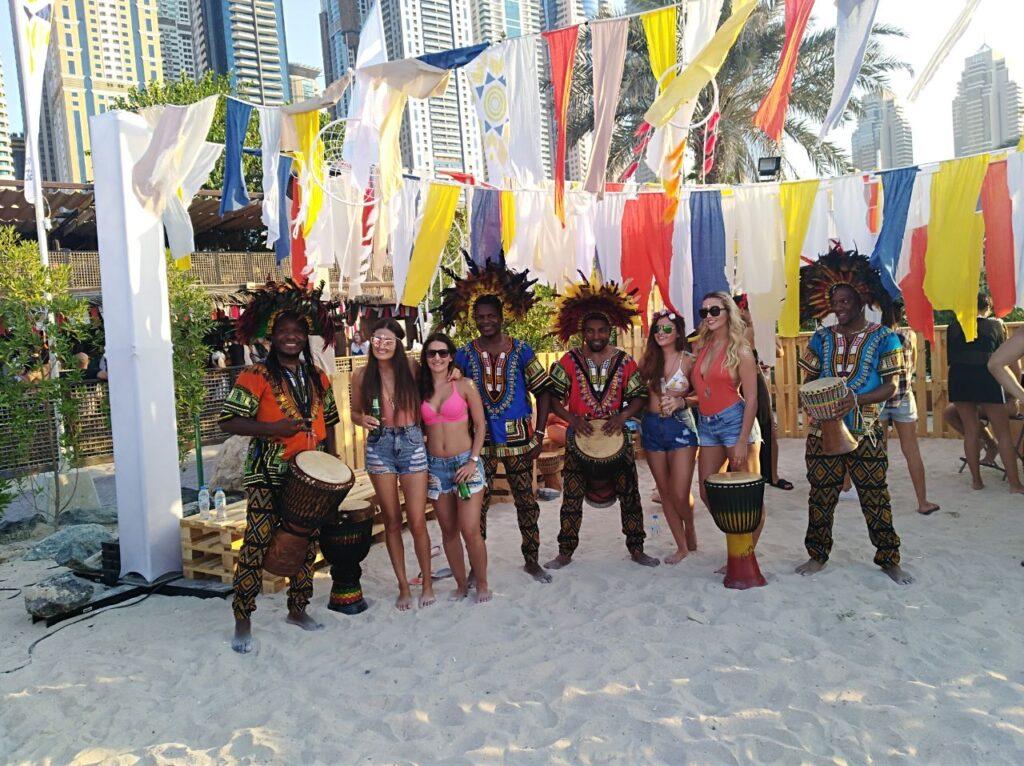 KO - African Show & Drumms - Gae events - Dubai - UAE (2)