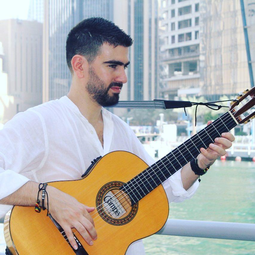OH - Arabic Guitarist - Gae Events - Dubi - UAE (1)