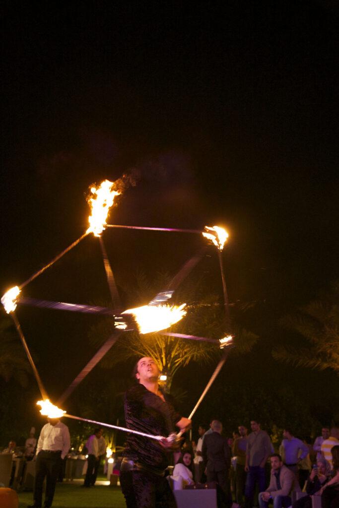 KK - Fire show Group - GAE events - Dubai - UAE (2)