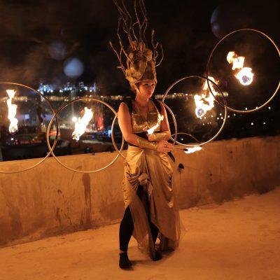 KK - Fire show Group - GAE events - Dubai - UAE (3)