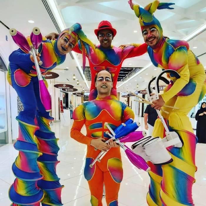 Roaming Performance GAE Events Dubai UAE 10