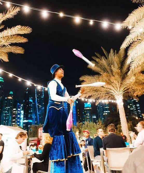 Roaming Performance GAE Events Dubai UAE 11
