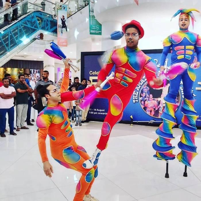 Roaming Performance GAE Events Dubai UAE 9