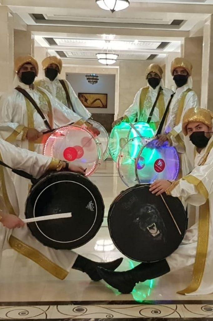Profile AD Arabic Drummers Gae Events Dubai UAE